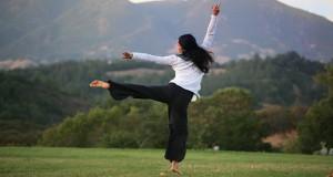 yoga fille